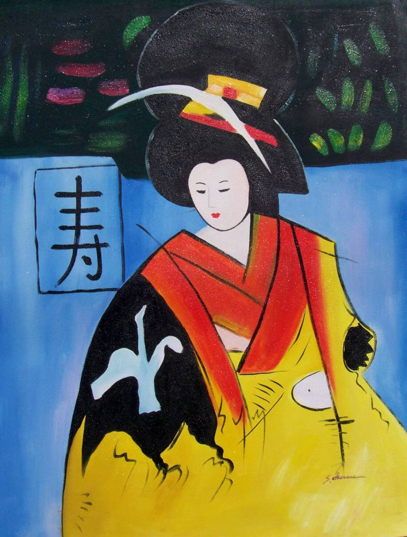 Asian Oil | Art Paintings For Sale