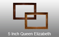 5 inch Queen Elizabeth High Quality Picture Frame