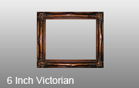 6 Inch Victorian High Quality Picture Frame