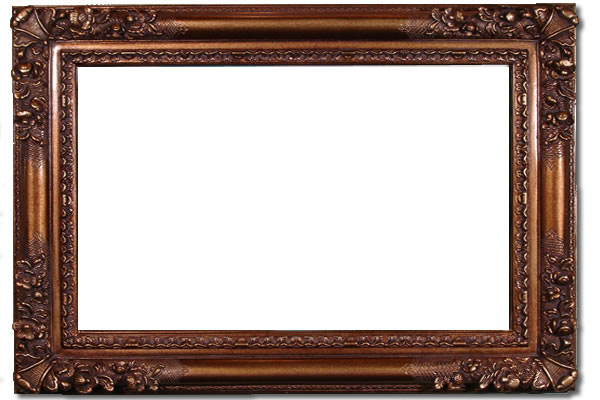 6 Inch Franklin High Quality Picture Frame - Oil Paintings Frames