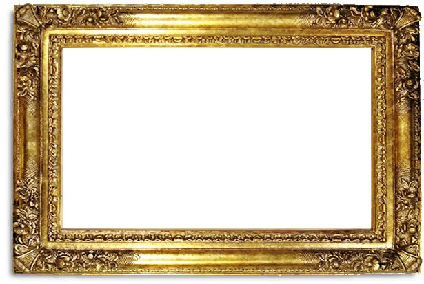 6 inch franklin high quality picture frame oil paintings frames