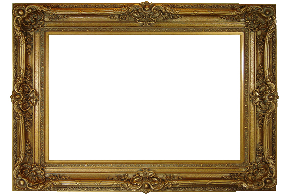 8 Inch Classic High Quality Picture Frame - Oil Paintings Frames