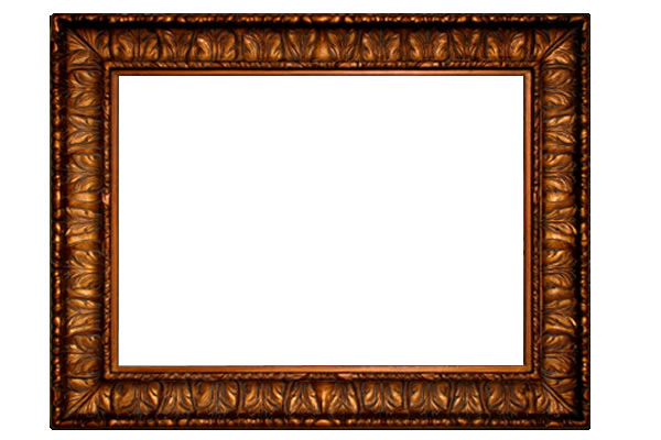 8 Inch Wide Excellency Frame in Bronze