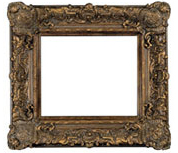 8 Inch Wide Majestic Frame in Bronze