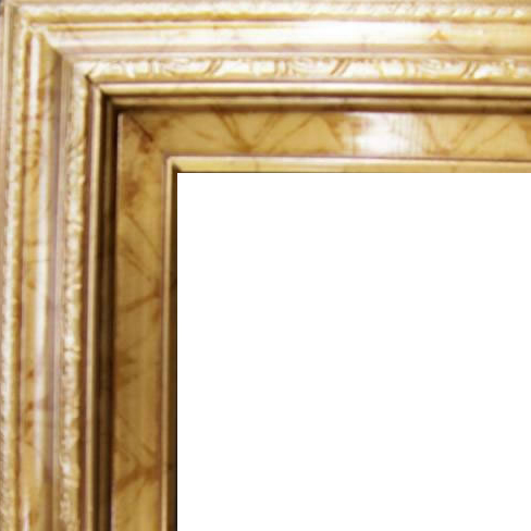 3 Inch Wide Deluxe Pine Frame Antique Gold