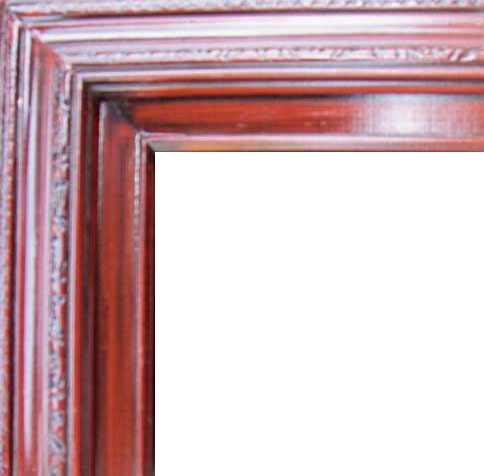 3 Inch Wide Deluxe Pine Frame Cherry