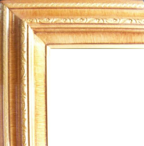 3 Inch Wide Deluxe Pine Frame Honey