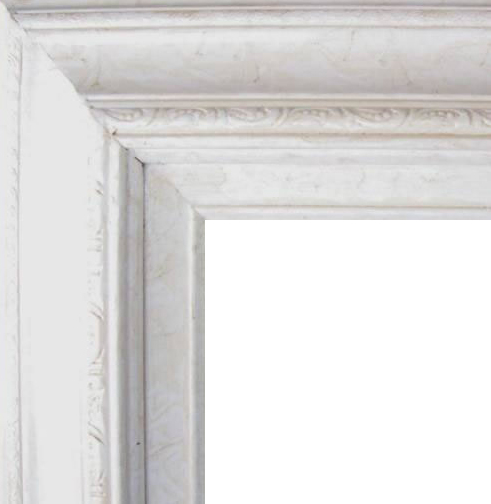 4.5 Inch Wide Deluxe XL Pine Frame Marble