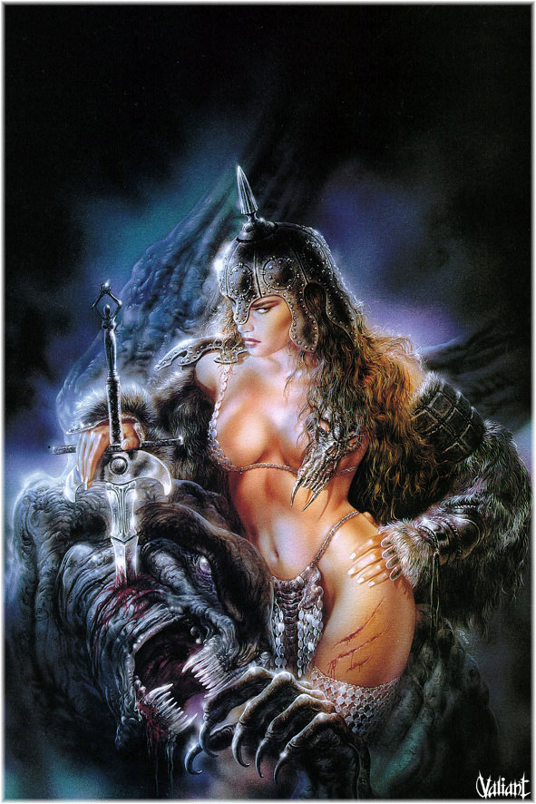 High Still Life Oil Painting #P4: Luis Royo Reproduction Fantasy