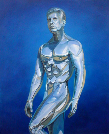 High Quality Portrait Oil Painting #Pa009-639: Gay Art Nude Iron
