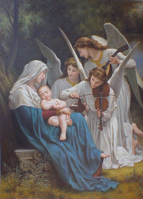 Museum Quality Oil Painting #PD 009: The Nativity Religion Baby