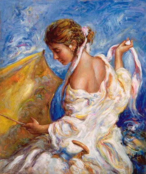Woman Umbrella Monet Monet Woman Umbrella