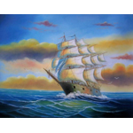 Old World Clipper Ships