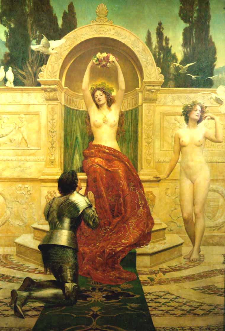 Museum Quality Oil Painting#CST-135: Roman Goddess Nude