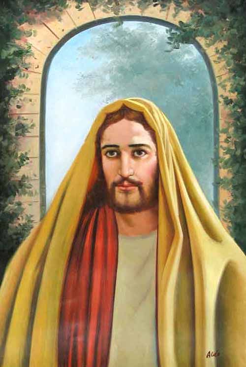 Museum Quality Oil Painting#CST-139: Jesus Christ Portrait