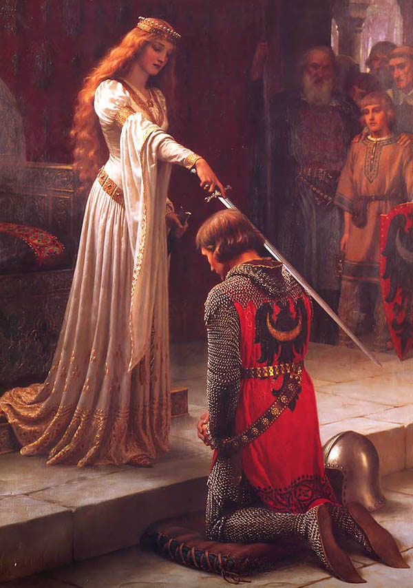Museum Quality Oil Painting #CST-56:Accolade by Edmund Blair